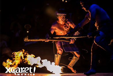 Tours in Cancún and Riviera Maya Xcaret at Night