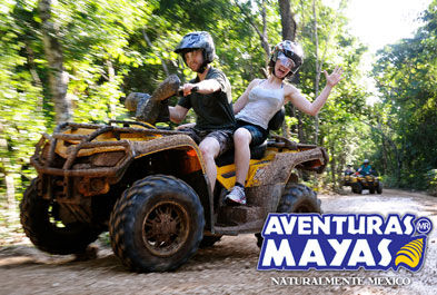 Tours in Cancún and Riviera Maya ATV Xtreme Zip Line