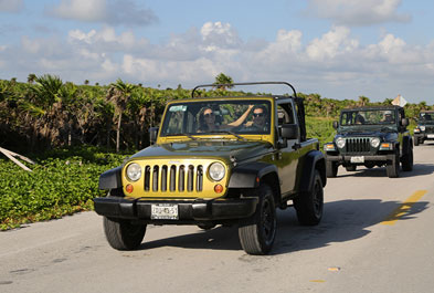 Tours in Cancún and Riviera Maya Cozumel Jeep Adventure