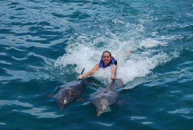 Tours in Cancún and Riviera Maya Dolphin Royal Swimm Cancun Isla Mujeres